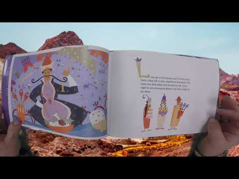 The King and the Three Thieves | Read Aloud | Folktale | Persia | Iran | Art | Education |Elementary