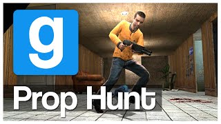 Gmod Prop Hunt - THE SNEAKY ORANGE!