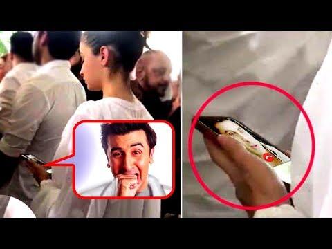 Alia Bhatt's VIDEO CALL To Ranbir Kapoor At Krishn