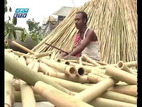 কুমিল্লার হোমনায় বাঁশি পল্লীতে বাঁশি তৈরি করে জীবিকা নির্বাহ
