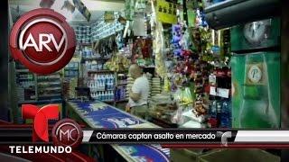 Captan en cámara robo en tienda de Dominicana