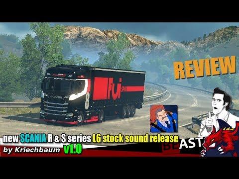 Scania New Gen L6 Stock Sound 1.30