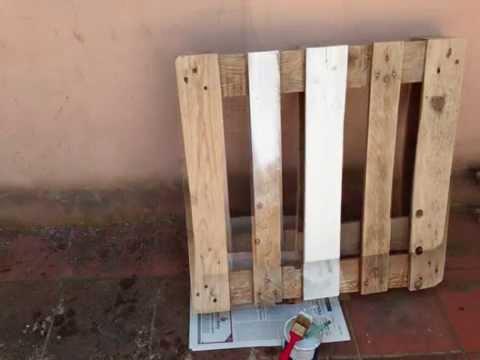 Come costruire un tavolino con un pallet