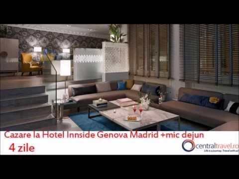 City Break Madrid - Hotel Innside Genova Madrid - Central Travel Bucuresti