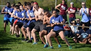 UIS Springfest Mud Tug-of-War 2016