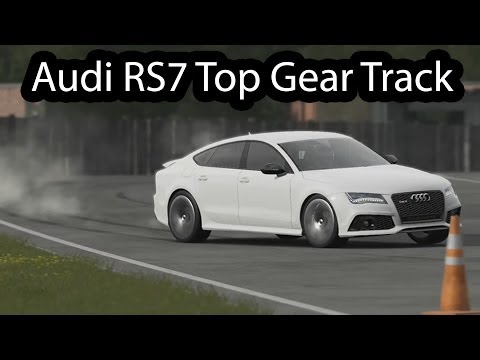 Audi RS7  Top Gear 2014