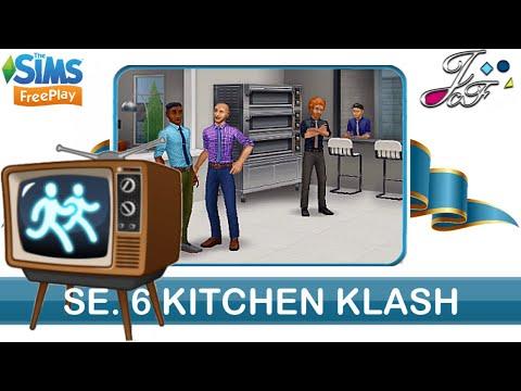 Sims Freeplay  📺🏃🏽♀️  Sim Chase SE. 6   KITCHEN KLASH   👨🏼🍳 ( Early Access ) 🔑