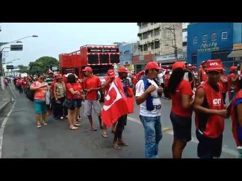 Manifestação em Cuiabá - MT