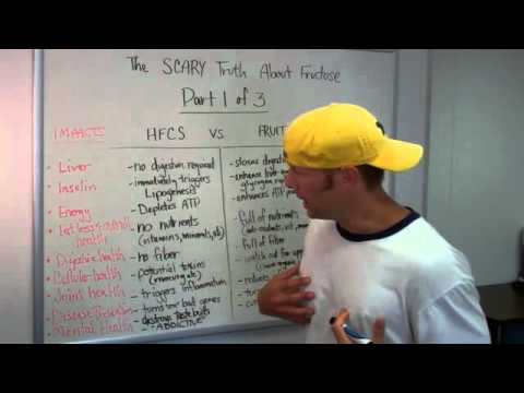 High Fructose Corn Syrup and Weight Gain: The Effects of High Fructose Corn Syrup vs. Fruit [Part 1]