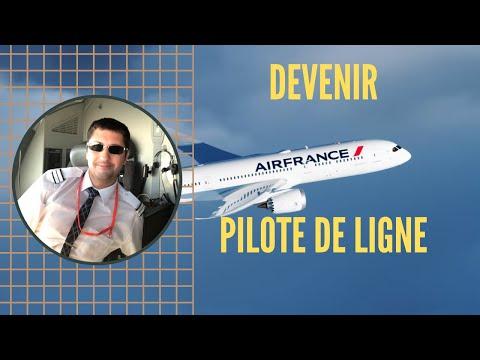 Comment DEVENIR PILOTE DE LIGNE ?