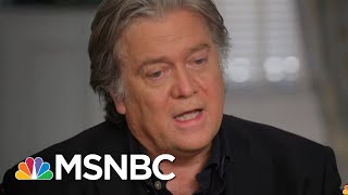 Steve Bannon: Firing James Comey Was 'A Big Mistake'   The Last Word   MSNBC