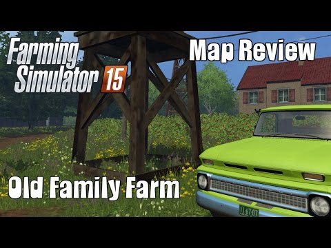 Old Family Farm Map FS15 v1.0