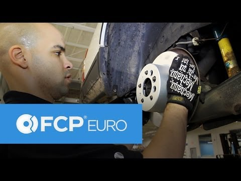 Volvo 940 Rear Brake Replacement (Pads, Rotors, Shoes, Calipers, Bosch Quietcast) FCP Euro