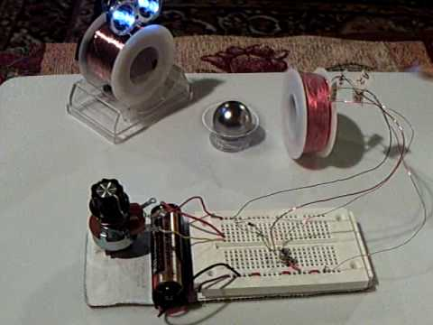 aircore - This is my simple pulse circuit with a bifilar air core coil instead of the solid core coil that I showed in my last few videos. The advantage is that the st...