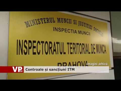 Controale și sancțiuni ITM