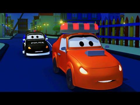 Patrol Policyjny - Syrena Amber - Miasto Samochodów