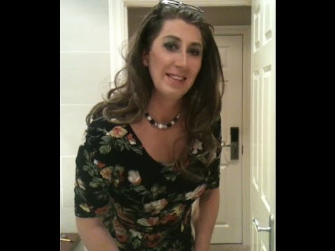 transvestite - A few random clips of me out shopping this week xx.