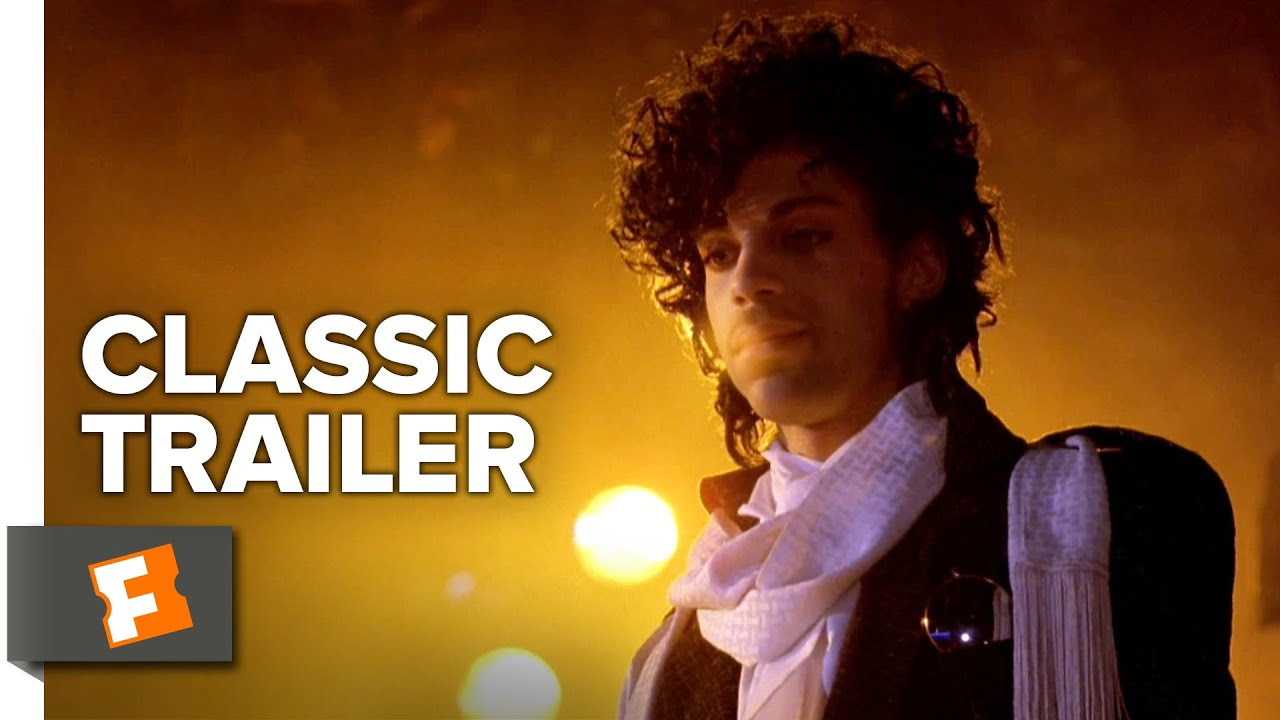 "[Classic Trailer] ""Purple Rain"" Starring 'Prince' in his Film Debut"