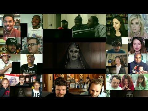 THE NUN - Official Teaser Trailer Reaction Mashup