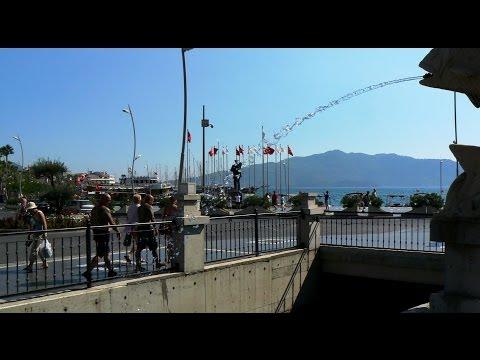 Turkije - 06 - Marmaris te voet en per fiets - Boulevard en Stad / 2013