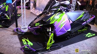 8. 2018 Arctic Cat ZR 8000 Limited iAct Sled - Walkaround - 2018 Toronto ATV Show