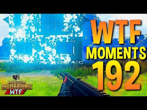 PUBG Funny WTF Moments Highlights Ep 192 (playerunknown's battlegrounds Plays) (видео)