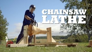 Andrew puts together a chainsaw law to cut some logs down into stools.  What projects should we make next? Let us know in the comments!  All Brojects, all the time: http://www.cottagelife.com/brojects   Subscribe to Cottage Life on YouTube: http://bit.ly/19UCmwF DIY projects, design tips, recipes and more: http://www.cottagelife.com Twitter: http://www.twitter.com/cottagelife Facebook: http://www.facebook.com/cottagelife Pinterest: http://pinterest.com/cottagelife/  Subscribe to Cottage Life Food: https://www.youtube.com/cottagelifefood  Subscribe to Cottage Life Style: https://www.youtube.com/cottagelifestyle
