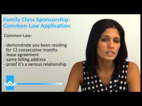 Common Law Sponsorship Application Video