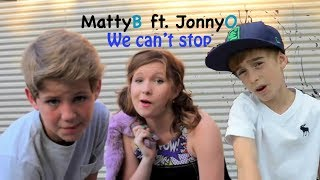 MattyB ft  JonnyO We can't stop (Miley Cyrus cover)