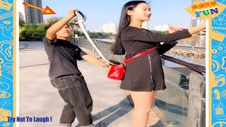 Video Chinese Comedy Videos - New Funny Pranks Compilation Try Not To Laugh P10 MP3, 3GP, MP4, WEBM, AVI, FLV Juli 2019