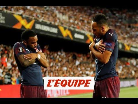 Du duo Aubameyang-Lacazette à Giroud, les ex de L1 brillent aussi en Ligue Europa - Foot - C3