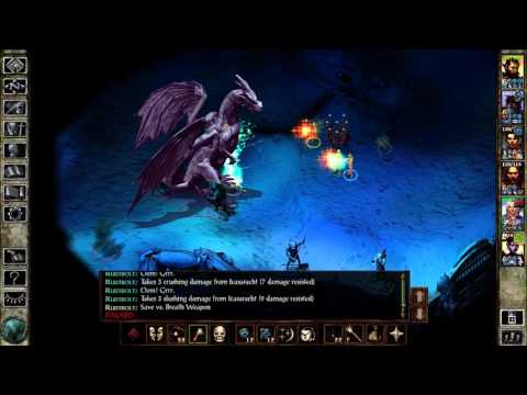IWDEE (Ice Wind Dale Enhanced Edition):  Mage kills White Dragon (Icasaracht's Lair) Beamdog