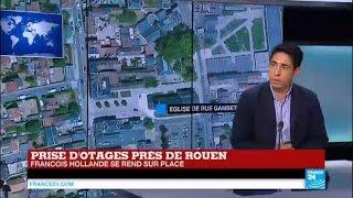 Saint-Etienne France  city photos : Prise d'otages dans une église de Saint-Etienne-du-Rouvray :
