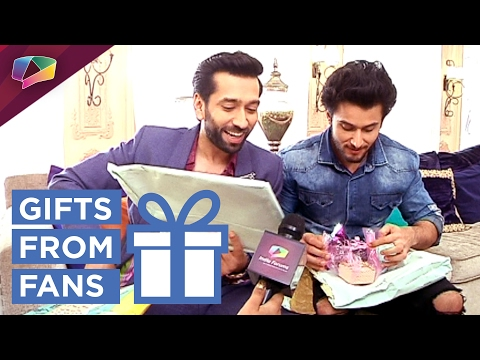 Nakuul Mehta and Leenesh Mattoo receive Gifts From