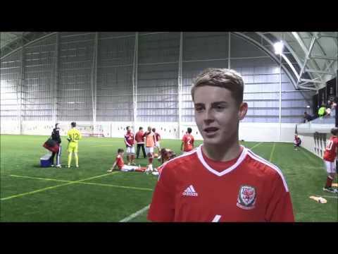 FAW Trust Video - Wales U16 goal hero Keenan Patte...