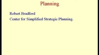 Using Systems Thinking Strategically by Robert Bradford