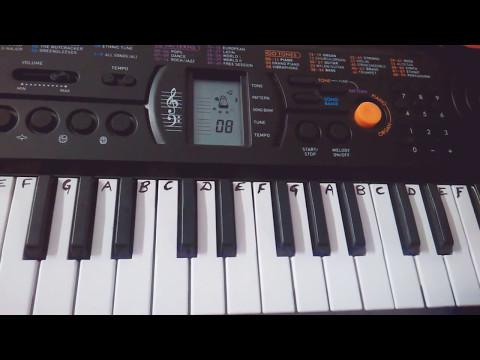 Lakdi Ki Kaathi - Keyboard -.Piano-Casio - TUTORIAL