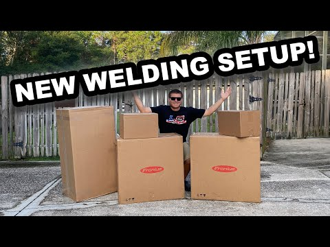 The BEST Welding Setup On The Market! (Fronius- Tig, Mig, & More)