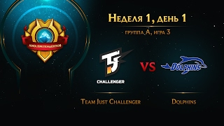 Just Challenger vs Dolphins, game 3