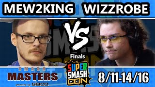 Smash Masters Finals – FOX MVG Mew2king Vs. COG Wizzrobe – Super Smash Con 2016