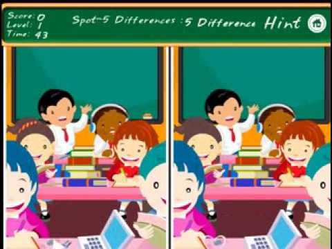 Video of Difference Game-Class Room Fun