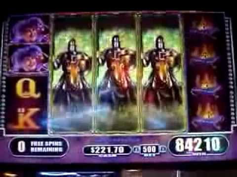 Black Knight 2 Slot Machine Big Win!!  $5.00 Max Bet