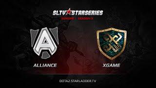 Alliance vs xGame.kz, game 1