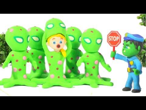 Video HULK POLICE STOPS THE MARTIANS ❤ Spiderman, Hulk & Frozen Play Doh Cartoons For Kids download in MP3, 3GP, MP4, WEBM, AVI, FLV January 2017