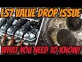 LS7 cylinder head valve drop issue - What you NEED to know!