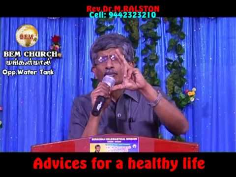 Advices for a healthy life