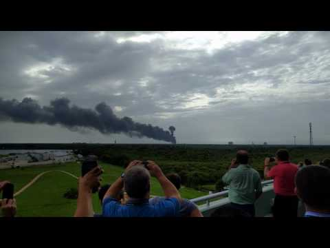 SpaceX-Rakete von Tesla-Chef: Explosion in Cape Canaveral