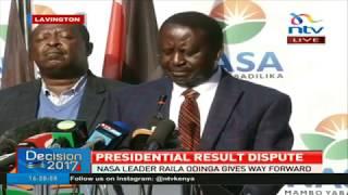 See you in court, Raila Odinga tells Uhuru Kenyatta