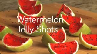 How to Make Watermelon Jelly Shots