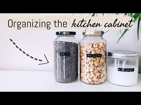 EASY WAYS I ORGANIZE MY KITCHEN CABINET